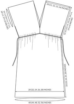 Corinne's Thread: Wear AnywhereTunic - The Purl Bee - Knitting Crochet Sewing Embroidery Crafts Patterns and Ideas!