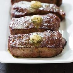 Our Broiled Steak recipe tastes like they came right off a hot grill! Find out what our easy oven trick is.