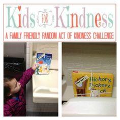 #KidsforKindness Random Act of Kindness Challenge