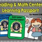 This is a fun way to keep track of what (and if) your students are learning during literacy and math centers. Print these passports out, fold them,...