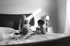 because you were there too!  --13 tips for family self-portraits