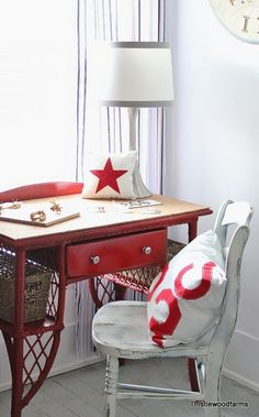 Desk with Cork top