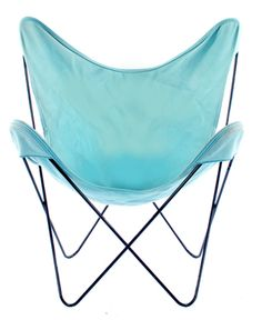Vintage Butterfly Chair - Turquoise Cloth