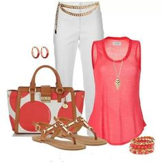 Cruise outfit, love the shirt