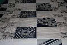 For all you Dallas Cowboy fans, we were even able to find Cowboy's fabric to make a Dallas Cowboy's quilt.