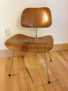 Eames for Herman Miller - Walnut 1950's.  Start your year with a new Chair! on Etsy, $475.00