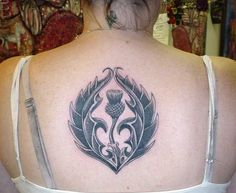 Thistle tattoo, me likey.
