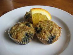 Lulu the Baker: Dakota's Oatmeal, Blueberry, and Orange Muffins