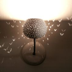 Claylight Dot Pattern Sconce now featured on Fab.