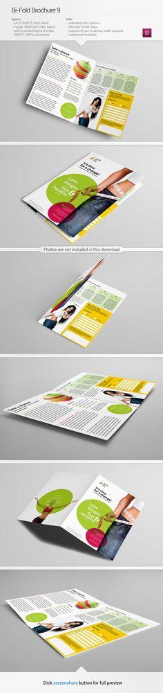 Brochure template #inspiration | via www.be.net/gallery/Bi-Fold-Brochure-29/11623733