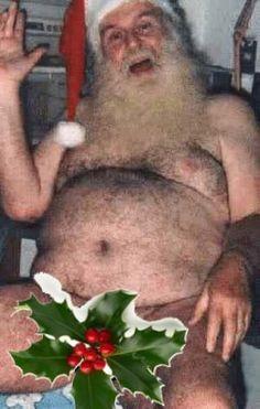 santa nake, santa clause, christma humor, naughti santa