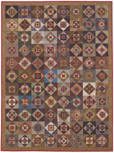 """""""One More Time"""", Biz Storms, 2011.  From """"Small Pieces, Spectacular Quilts""""."""