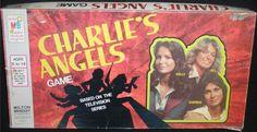 MILTON BRADLEY: 1977 Charlie's Angels Game #Vintage #Games