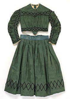 1863-1865 civil war era child's dress