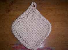 A New Twist On Grandmother's Favorite Dishcloth: Grandmother's Favorite-The Original