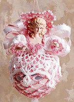 Free crocheted angel pattern