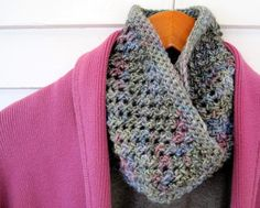 Mr. Micawber's Recipe for Happiness: Northern Shadows Cowl ~ Free Pattern & Stitch Tutorial