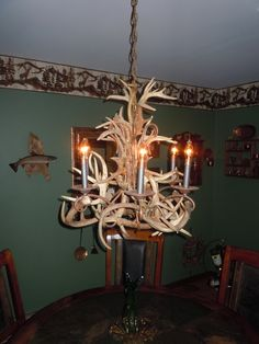 deer antlers over the course of a year or two this antler chandelier