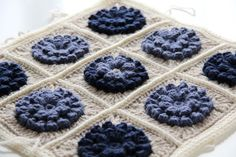 Free Pattern (click on Millies Blog Link). Just awesome colouring and fantastic bobbly Flowers. I adore this, totally yummy. Thanks so for sharing xox
