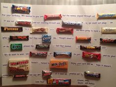 Birthday Candy Bar Poem - I will be doing this soon!!!