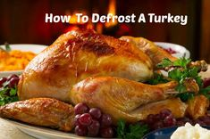 Thawing A Frozen Turkey: How to Defrost A Turkey