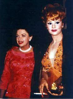 Judy Garland & Lucille Ball