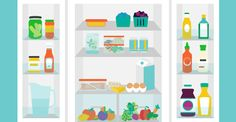 How to Organize Your Fridge to Keep Food Fresher, Longer (and Cut Your Energy Bill) from @greatist