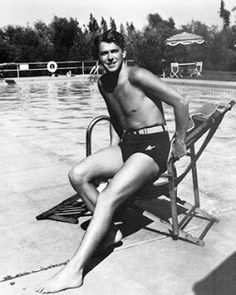 Young Ronald Reagan<<<<< daaaaang