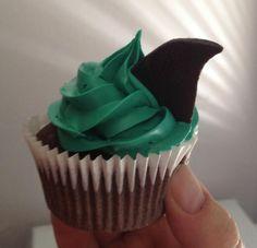 San Jose Sharks Cupcakes