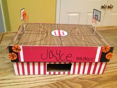 Indiana Hoosiers basketball valentines box