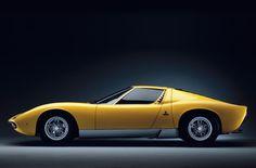 #car Lamborghini Miura