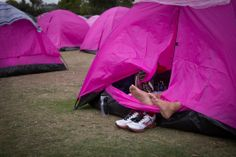 Let those feet hang out and relax. #60miles #the3day