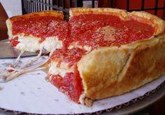 Deep dish pizza.