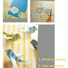 DIY Nursery Mobile {Crafts with Paper}