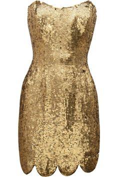 Lexi sequined mini dress / Rachel Gilbert