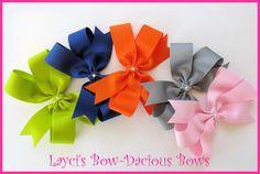layci bowdaci, custom pinwheel, bow choos, hair bows, pinwheel hair, bowdaci bow