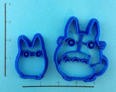 Totoro Set Cookie Cutters by WarpZone on Etsy, $9.00