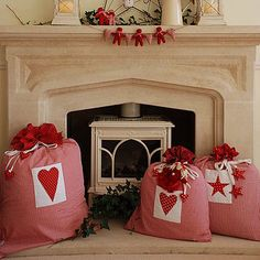 Cute gift bag idea for large gifts.  Bigger than the other gift bags on this board....but hey a gift bag is a gift bag!