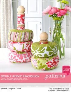 double ringed pincushion