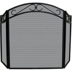 3-Panel Fireplace Screen-S-1088 at The Home Depot