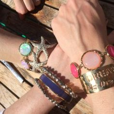 It's Charming Charlie! #CCStyle There's a #wristparty going on.