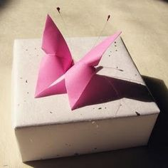 ORIGAMI BUTTERFLY {ORIGAMI DIRECTIONS}