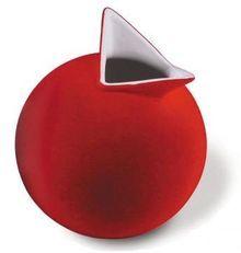 bird vase, red bird, indianapoli museum