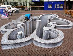 Juandres Vera 3D street art