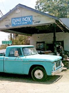 Old Dodge Truck Dime Box, TX....