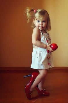 Every girl needs at least one pair of Red Shoes <3