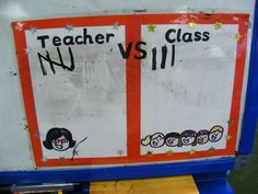 Teacher vs Class - My class love gaining points and trying to beat me to win a reward!