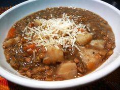 Lentil Soup in 10 Minutes (Pressure Cooker)