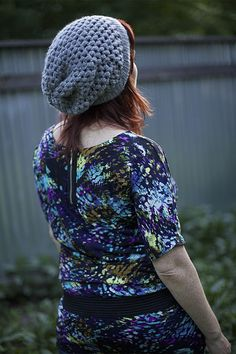 I've crocheted 2 of these for my daughter and she loved them. Urban Jungle Slouchy Beanie! | Vickie Howell