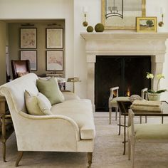 interior design, living rooms, couch, giannetti architect, fireplac, hous, homes, live room, mantl